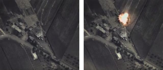 ロシア軍シリア空爆