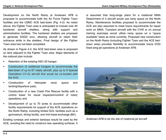 [Guam Integrated Military Development Plan] p71