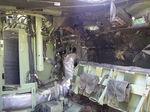 M2ブラッドレー歩兵戦闘車(内張り装甲まで貫通)