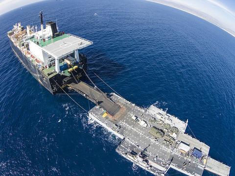 Improved Navy Lighterage System (INLS)  改善海軍艀システム