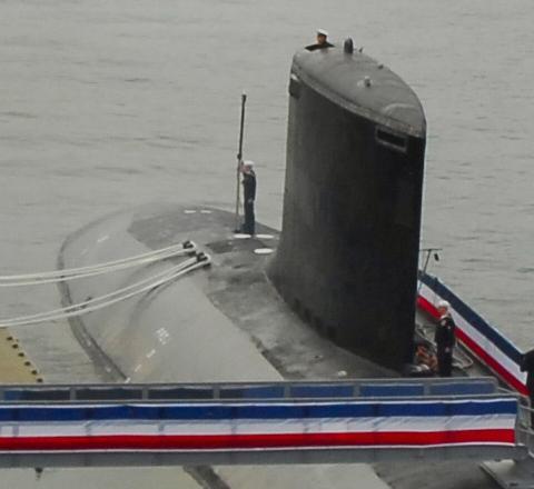 バージニア級原潜ニューハンプシャー号