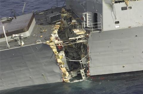 退役駆逐艦ファイフ撃沈試験