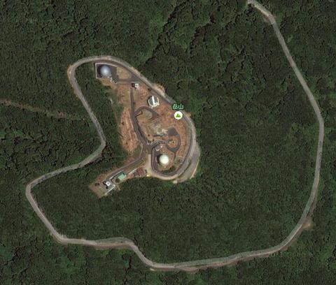 岳山レーダー施設