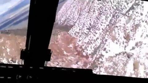 MV-22オスプレイ低空飛行訓練